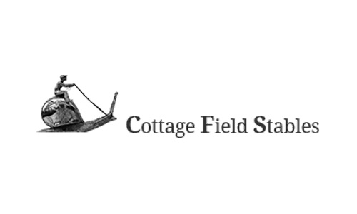 The logo of Cottage Field Stables