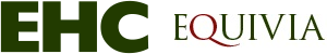 The Equine Health Centre logo and the Equivia logo