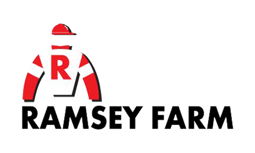 The logo of Ramsey Farm