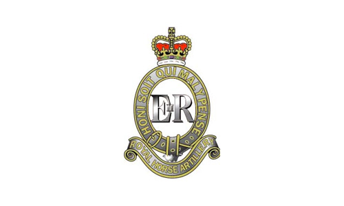 The logo of the Royal Horse Artillery