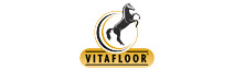 The Vitafloor horse vibration therapy system logo