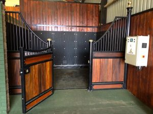 Equine Health Centre Vitafloor the original vibrating floor systems the VM2 which fits into a standard stable allowing the horse to fully relax whilst using it.