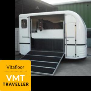 A hose inside a VMT Traveller Vitafloor mobile unit