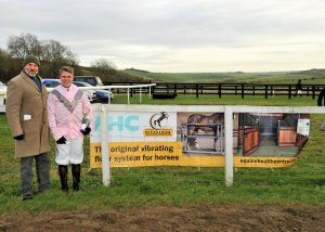 Vibrating floor for horses sponsor Barbury Point to Point